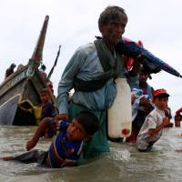 Rohingya rebels declare truce as hunger, disease descend on crowded refugee camps