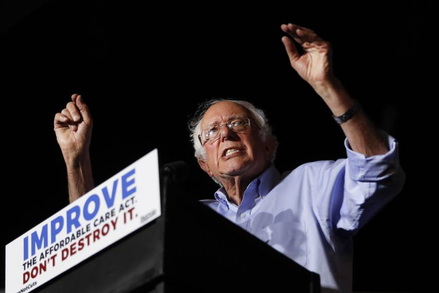 Bernie Sanders puts Democrats on the spot with proposed government-run health care for all