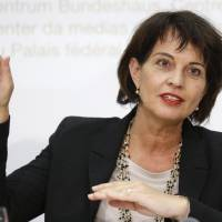 Swiss leader Leuthard says nation ready to play mediator role in North Korea crisis