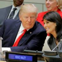 Trump tempers U.N. criticism at debut but calls for reform of 'mismanaged' world body