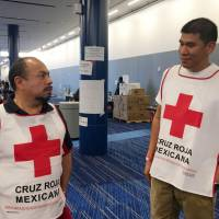 Mexican volunteers put politics aside, cross border to aid Texas after Hurricane Harvey