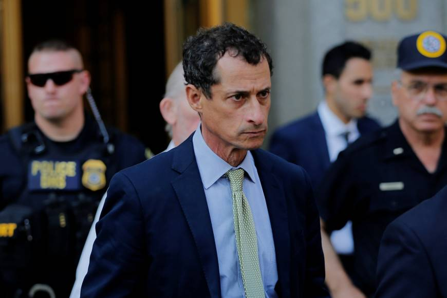 A weeping Anthony Weiner gets 21 months in prison for sexting with minor, hits 'rock bottom'
