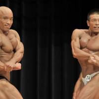 As more Japanese take up bodybuilding, a veteran chases a championship