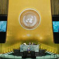 Full text of Abe's address at U.N. General Assembly