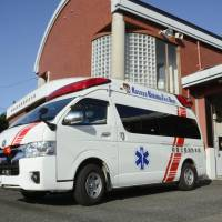 High demand for ambulance services continues to rise as Japan's population ages and nonemergency calls for services have increased. | KYODO