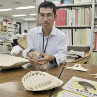 Takeshi Imazu speaks to The Japan Times on Aug. 21 about the challenges of culling snapping turtles, an invasive alien species. | YOSHIAKI MIURA