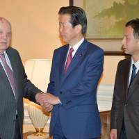 Japan-Russia relations improving but need further efforts: Gorbachev
