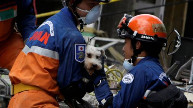 Japanese personnel end search and rescue efforts in quake-hit Mexico