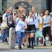 Overseas visitors to Japan set January-August record topping 18.9 million