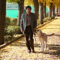 Tokyo University of Agriculture professor Mitsuaki Ohta says many urban spaces haven't been designed with guide dogs in mind. | COURTESY OF MITSUAKI OHTA