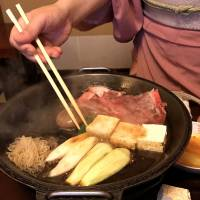 Ningyocho Imahan: An old take on an old favorite — sukiyaki