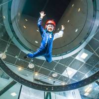 Children age 4 and up can experience flight at FlyStation Japan.   COURTESY OF FLYSTATION JAPAN