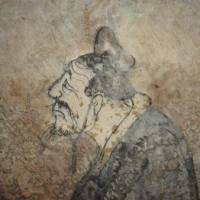 A fresco of Confucius that was found in a tomb in Shandong Province. | WIKICOMMONS