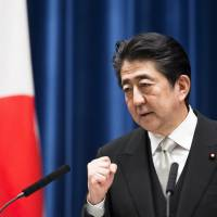 Prime Minister Shinzo Abe is widely expected to call a snap election next month. | BLOOMBERG
