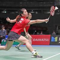 Takahashi, Matsutomo make quick work of Fukushima, Hirota to reach Japan Open final