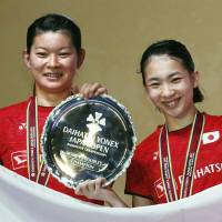 Takahashi, Matsutomo claim second Japan Open title