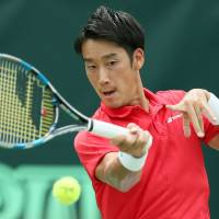Sugita, Soeda give Japan strong start against Brazil in Davis Cup World Group playoff