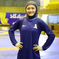 Four-time Olympic wrestling champion Kaori Icho is working in Iran this month to help develop the nation's grappling instructors. | KYODO