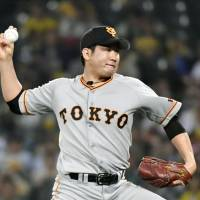 Sugano shuts out Tigers as Giants keep pace in race for playoffs
