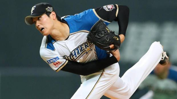 Otani fans nine, struggles with control in first 100-pitch outing of season