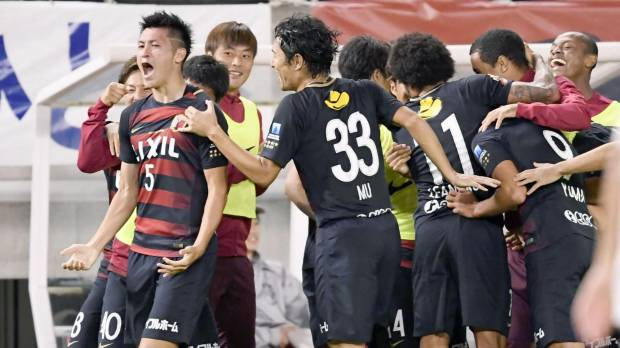 Ueda delivers late heroics to lift Antlers past Gamba