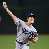 D-Backs pound Maeda, slumping Dodgers
