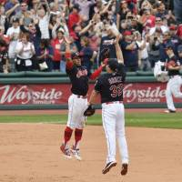 Indians establish AL record with 21st consecutive win