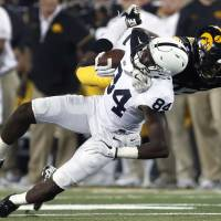 No. 4 Penn State beats Iowa with TD on final play
