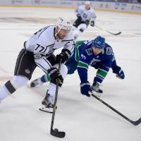 Kings sweep Canucks in two-game exhibition series in China