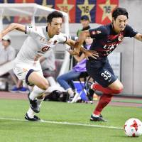 J. League title race heating up as top five break away