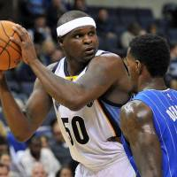 Zach Randolph joined th the Sacramento Kings as a free agent this offseason, signing a two-year contract. | AP