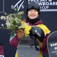 Snowboarder Totsuka triumphs in World Cup series debut
