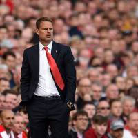 Crystal Palace manager Frank de Boer was fired by the team on Monday following a poor start to the Premier League season. | AFP-JIJI