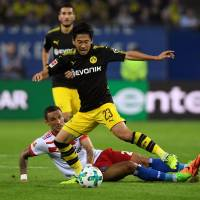 Kagawa scores first goal of Bundesliga season