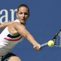 Karolina Pliskova will work with her father for the remainder of the season after parting ways with David Kotyza. | AP