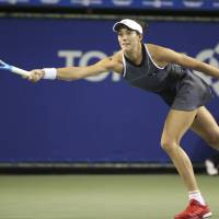 Top-ranked Muguruza cruises past Garcia in Pan Pacific Open quarterfinals