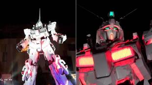 [VIDEO] Opening ceremony for Japan's Unicorn Gundam statue in Odaiba, Tokyo