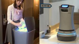[VIDEO] Shinagawa Prince Hotel N Tower's delivery robot in Tokyo, Japan