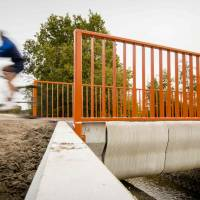 Dutch boast 'world's first 3-D-printed bridge' that for now only bikes will ply