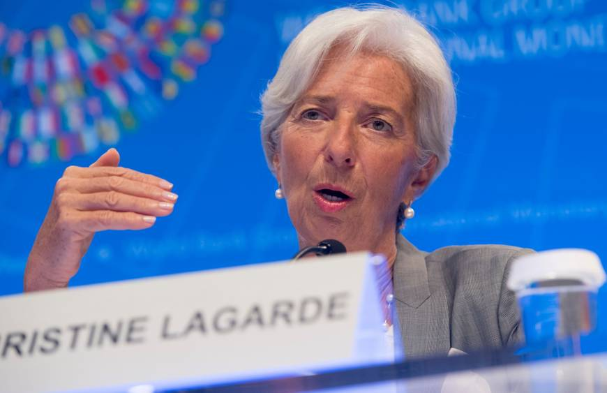 IMF chief warns rising threats could disrupt the global economy recovery