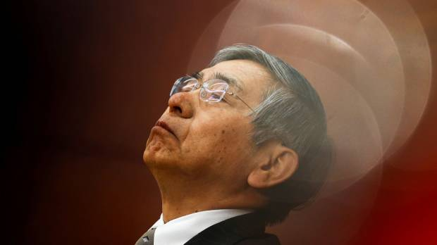 Researchers analyze Kuroda's facial microexpressions to predict central bank policy moves