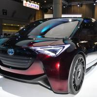 Toyota Motor Corp.'s hydrogen-powered Fine-Comfort Ride fuel-cell vehicle | YOSHIAKI MIURA