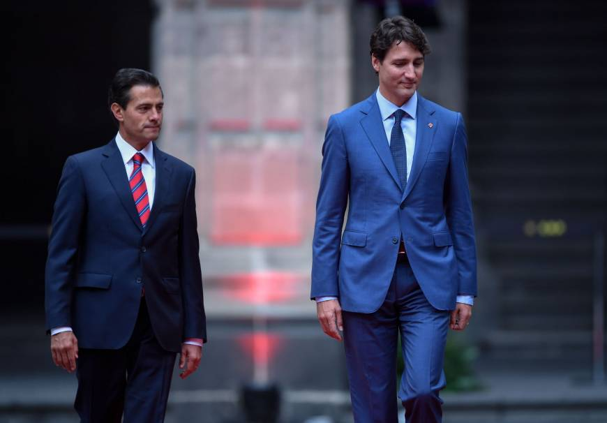 Trudeau visits Mexico on NAFTA tour after tense talks with Trump