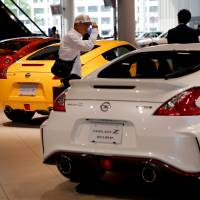 Nissan Motor Co. plans to resume the production and shipment of new vehicles for the Japanese market. | REUTERS