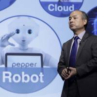 Billionaire Masayoshi Son, chairman and CEO of SoftBank Group Corp., speaks during a news conference in Tokyo on Aug. 7. | BLOOMBERG