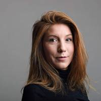 Danish police find head, legs, clothes of Swedish journalist killed on inventor's submarine