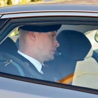 U.S. Army Sgt. Bowe Bergdahl leaves the courthouse after taking the stand on the fourth day of sentencing proceedings in his court martial at Fort Bragg, North Carolina, Monday. | REUTERS