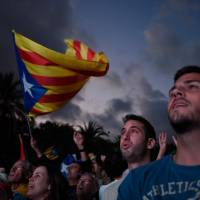 Spain vows 'all options' are open in Catalonia crisis talks