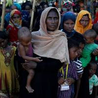 Wild elephants trample to death four Rohingya refugees in Bangladesh