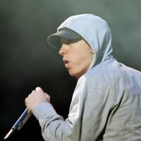 U.S. rapper Eminem performs during the Abu Dhabi F1 Grand Prix After Race closing concert at the du Arena on Yas Island in 2012. | REUTERS